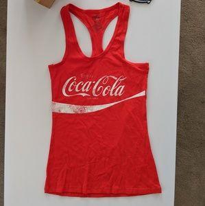 Tops - NWT Coca Cola Racerback Tank Top